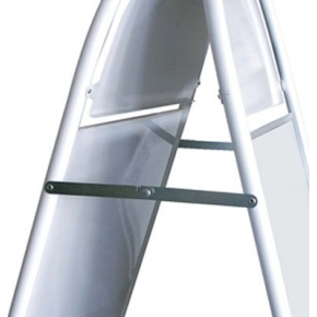 "Gadeskilt ""Expo Gotik"", 50x70cm, Sølv"