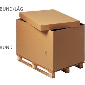 Palle container bund, 775 x 557 x 700 mm, 2-lags