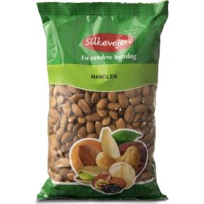 Silkevejen Mandler, natural, 1 kg