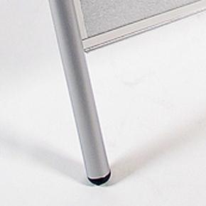 """Gadeskilt """"Expo Lux"""", 50 x 70 cm, Sølv"""