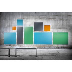 Lintex Mood Wall, 100 x 125 cm, dueblå calm