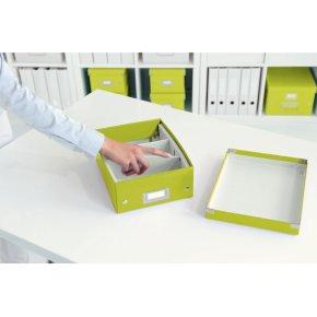 Leitz Click & Store Organizer boks lille, grøn