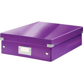 Leitz Click & Store Organizer boks medium, lilla