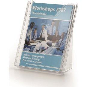 Combiboxx brochureholder, A4, 1 fag, stående