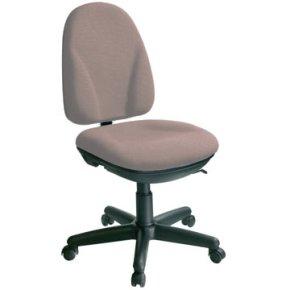 Deluxe kontorstol, grå