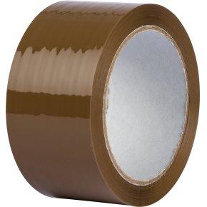 Lomax Pakketape 50 mm, low noise, brun