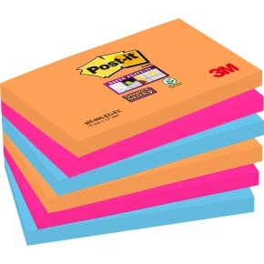 Post-it Super Sticky Notes 76 x 127mm, Bangkok