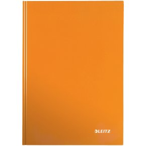 Leitz WOW notesbog A5, kvadreret, orange