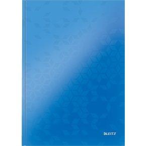 Leitz WOW notesbog A4, kvadreret, blå
