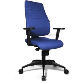 Anzio kontorstol blå