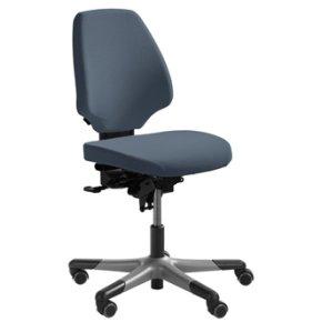 RH Activ 222 kontorstol høj ryg, bredt sæde grå