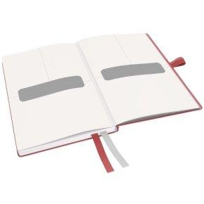 Leitz Complete notesbog A6, kvadreret, rød