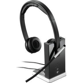 Logitech H820e dual trådløst PC headset