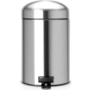 Brabantia Retro Pedalspand 3 liter, mat stål