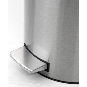 Brabantia Pedalspand 12 liter, mat stål