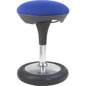 Sitness ergo-stol, blå
