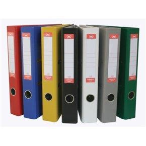 Lomax brevordner A4, 50mm, rød