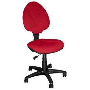 Orbit high kontorstol, rød