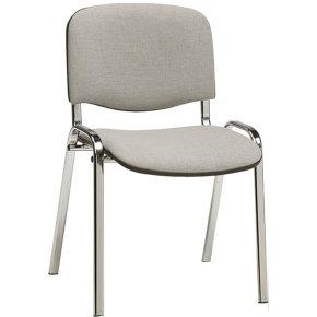 Casa konferencestol polster, lys grå