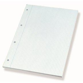 Bantex standardblok A4, kvadreret, sidelim.