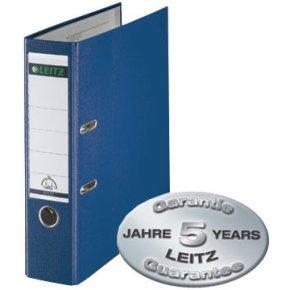 LEITZ brevordner 180 grader 80mm, blå