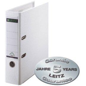 LEITZ brevordner 180 grader 80mm, hvid