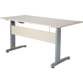 VIKING hæve/sænkebord 160X80, ahorn melamin