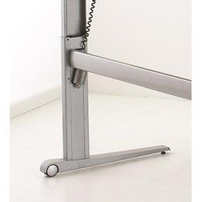 STEADY hæve/sænkebord 180 cm højrevendt, ahorn