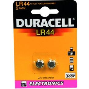 Duracell LR44-B2 knapcelle batterier, 2stk