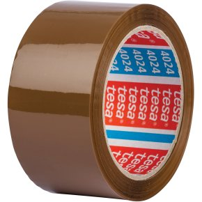 tesa Pakketape, 50 mm, brun