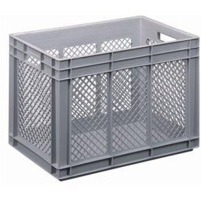 Lagerkasse perforeret 80 liter,(LxBxH) 60x40x42 cm