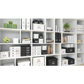 Leitz Click & Store skuffekabinet 3 rum, hvid