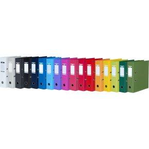 Elba Strong-Line brevordner A4, 80mm, mørkeblå