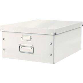 Leitz Click & Store opbevaringsboks large, hvid