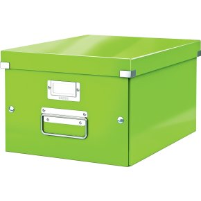 Leitz Click & Store opbevaringsboks medium, lime