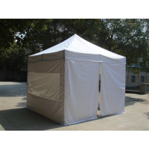EASY UP Pavillon 3x3 m i off-white inkl. sider