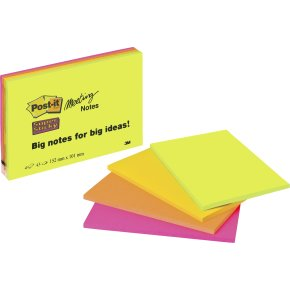 Post-it Super Sticky Notes,149x98mm