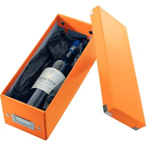 Leitz Click & Store CD-boks, orange