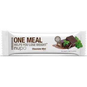 Nupo Meal bar chokolade & mint, 60 g