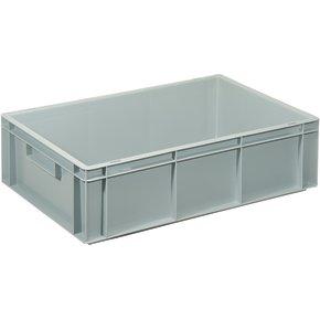 Lagerkasse 34 liter, Lukket håndtag, 60x40x17 cm
