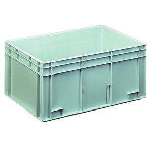 Lagerkasse 55 liter, Lukket håndtag, 60x40x28 cm