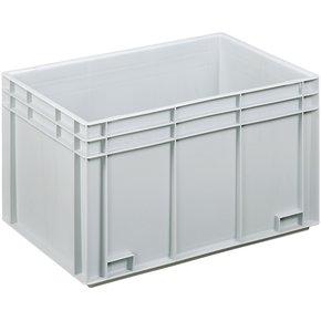 Lagerkasse 70 liter, Lukket håndtag, 60x40x34 cm