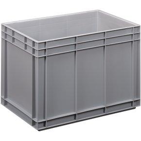 Lagerkasse 80 liter, Lukket håndtag, 60x40x42 cm