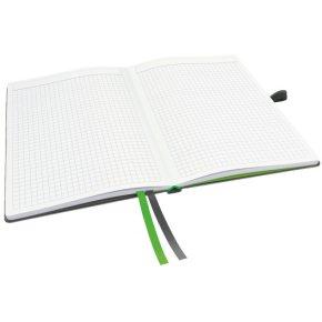 Leitz Complete notesbog A5, kvadreret, sort