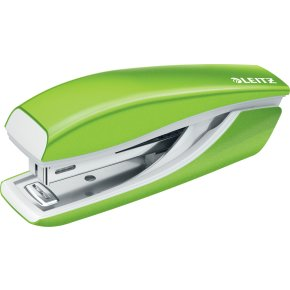 Leitz WOW Mini hæftemaskine, grøn metallic