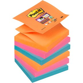 Post-it Super Sticky Z-Notes 76 x 76mm, Bangkok