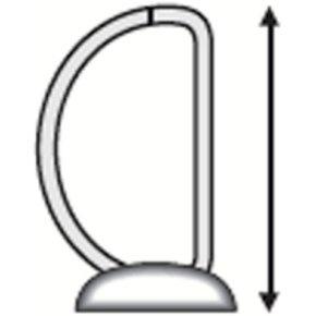 Esselte Indstiksringbind A4+, 2 DR, 77 mm, hvid