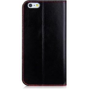 iM lædercover til iPhone 6/6S Plus, sort