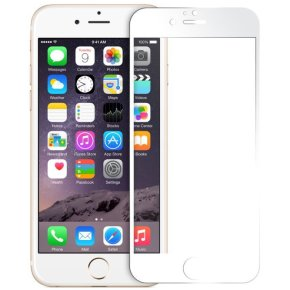 Coolreall Skærmbeskyt. iPhone 6 plus/6S plus, hvid