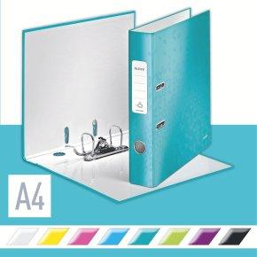 Leitz 180 WOW brevordner A4, 50mm, isblå
